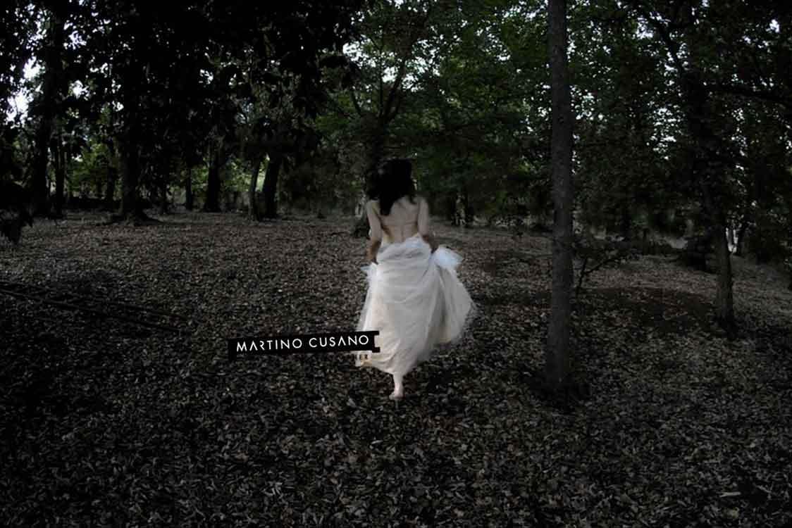 sposa nel bosco