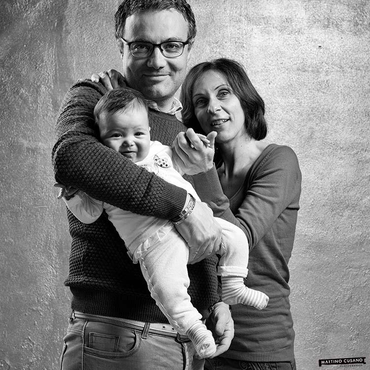 Enrico Family bw