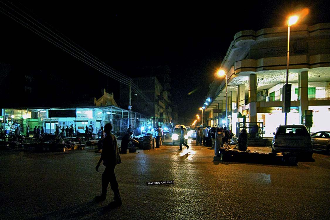 poche luci a khartoum