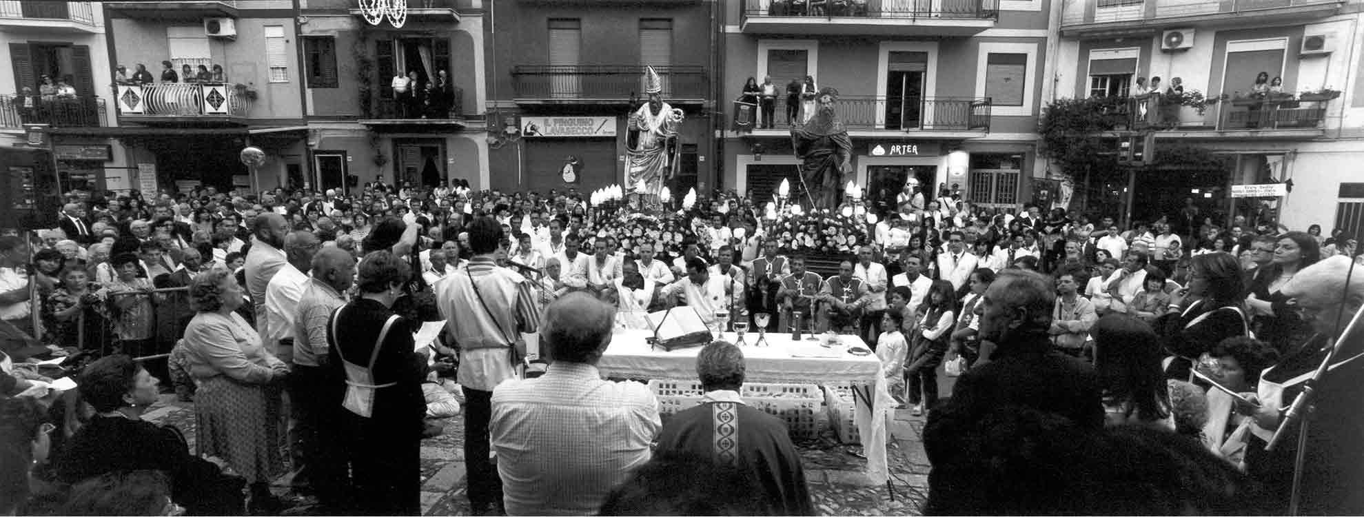 Corleone processione S. Leoluca e S. Antonio