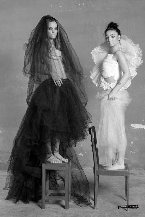 Studio black and white Portrait