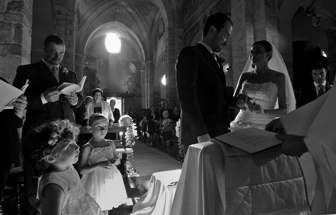 Sermoneta il giorno del matrimonio
