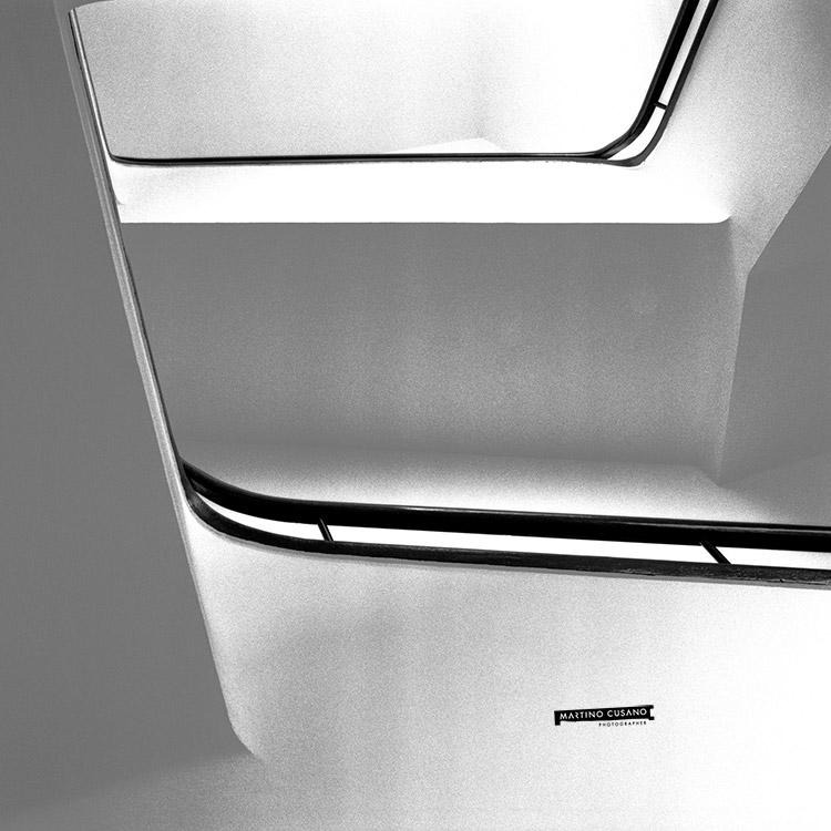 architettura razionalista visioni per le scale Latina hasselblad